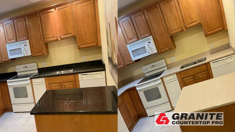 Kitchen Transformation – Granite Countertop Pro