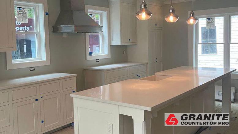 White Kitchen Look – Granite Countertop Pro
